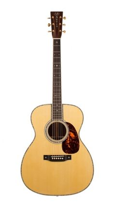 "MARTIN M-42 Custom (2013) : ""M"" (aka ""OOOO"") size guitar with Style-42 appointments. Alpine Spruce top, Madagascar Rosewood back & sides"