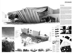[A3N] : Sustainable Market Square Competition Winner ( Casablanca) / ( Honorable Mention 04 : Pop up Market ) Pavlos Bakagiannis, Antonella Theodorakatou (Country: Greece)