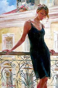 Afternoon on the Balcony -  - Michael and Inessa Garmash
