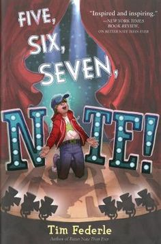 FIVE, SIX, SEVEN, NATE by Time Federle. Now on Broadway as second understudy for E.T., Nate Foster keeps in close contact with his best friend, Libby, as he faces his nemesis, Jordan Rylance, and his own insecurities as the cast member with the least training and experience.  (Remember this is book two in a series but you also receive credit for reading book one). *Available as an e-book on Overdrive.