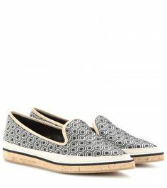 Nicholas Kirkwood - Jacquard cork slippers - mytheresa.com GmbH