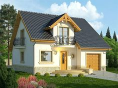 Micro House, Design Case, Home Fashion, House Plans, How To Plan, Mansions, House Styles, Home Decor, Houses