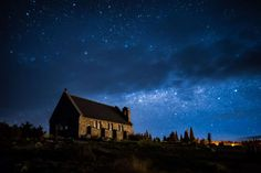 Mackenzie Basin, New Zealand Astro-tourism is a fast developing travel trend in New Zealand. With almost no light pollution, the area around the Mackenzie Basin has been declared an 'International Dark Sky Reserve.' The best times to visit are the summer and autumn months (December to April), when the skies are crystal clear. - David Wong/Getty Images