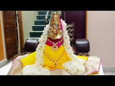How to make simple varalaksmi vratham kalasham at home - YouTube