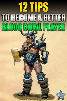 These are the things I've learned after hundreds of Blood Bowl games that have made me a much better player. Neji And Tenten, Blood Bowl, Bowl Game, Warhammer Models, Mini Paintings, Fantasy Football, Best Player, Shiro, Gw