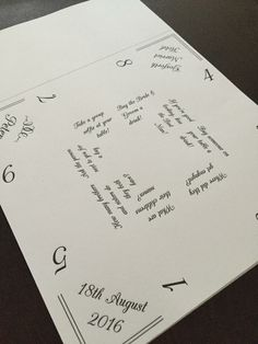 Paper fortune tellers wedding table games. printed ready for