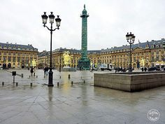 Place Vendome - high jewelry stores district