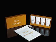 Citron Citron Travel Set with bon voyage travel bag
