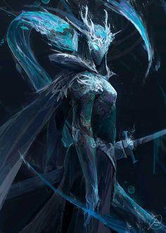 the queen of darkice,lissandra