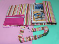 Capa de Caderno com alça tipo Fichário Beach Mat, Outdoor Blanket, Diy Crafts, Recycling Ideas, Woven Cotton, Paper Engineering, Diy, Ideas, School Supplies