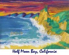 Half Moon Bay, California from www.starbellenterprises.com