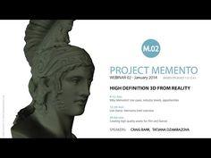 Autodesk Memento Webinar #2 - High Definition 3D from Reality - YouTube