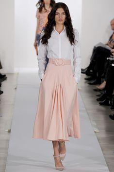 Oscar de la Renta Pre-Fall 2013 Fashion Show Collection