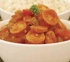 Jogurt-en-kondensmelk-beskuit-resep | Vrouekeur Shrimp, Cooking Recipes, Meat, Vegetables, Food, Cooker Recipes, Veggies, Essen, Vegetable Recipes