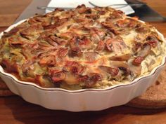 Home Made by Ada: Quiche met champignons