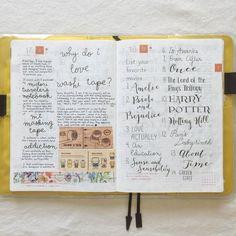 Seaweed Kisses: The Journal Diaries- Gert's Hobonichi