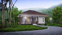 แบบบ้านชั้นเดียว Contemporary Style 2 ห้องนอน 1 ห้องน้ำ 81.17 ตร.ม. พร้อม BOQ ราคาค่าก่อสร้าง ดาวน์โหลดแบบบ้าน ก่อสร้างได้เลย