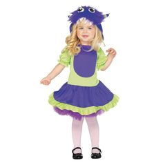 Cuddle Monster Halloween Costume for Toddler