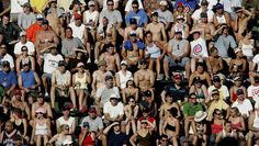"""Calling all single Cubs fans, stop by Wrigley Saturday, July 18 for """"Playing the Field"""" bleacher event!"""