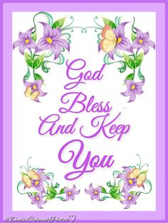 God Bless And Keep You