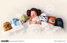 Yeni doğmuş Prenses Leia