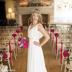 Aisle style by www.tincanfloral.co.uk & Photodabek