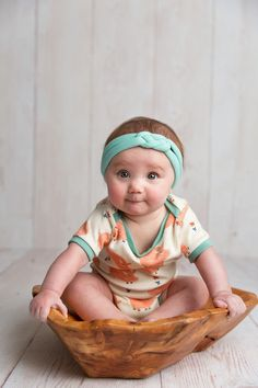 mint baby headband - knotted braided headband - baby style - newborn headband - baby girl outfit - headband by holly blossoms on etsy.