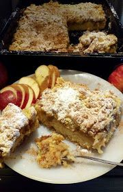 ΜΑΓΕΙΡΙΚΗ ΚΑΙ ΣΥΝΤΑΓΕΣ 2: Μηλόπιτα αφράτη γλυκιά τραγανή !!! Greek Sweets, Greek Desserts, Apple Desserts, Greek Recipes, Apple Cakes, Veal Recipes, Apple Pie Recipes, Cookie Recipes, Dessert Recipes