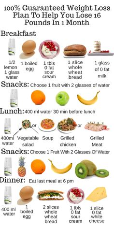 Free diet plans to lose weight fast