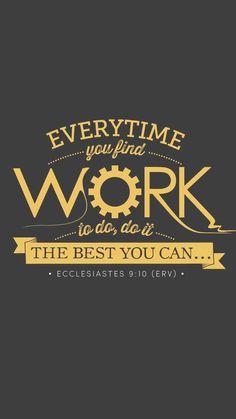 Ecclesiastes The best motivation you can get! Scripture Wallpaper, Bible Verse Wallpaper, Wallpaper Quotes, Christian Motivational Quotes, Christian Quotes, Inspirational Quotes, Bible Verses Quotes, Bible Scriptures, Scripture Verses