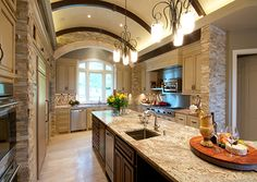 Gourmet Angles in the #kitchen - shared by Kitchen and Bath Business