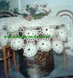 Arte em Crochet: A Toalha