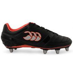 best sneakers 94d84 068c5 Canterbury Phoenix Club (8 Stud) Rugby Boot 2016 Black The Canterbury  Phoenix rugby boot