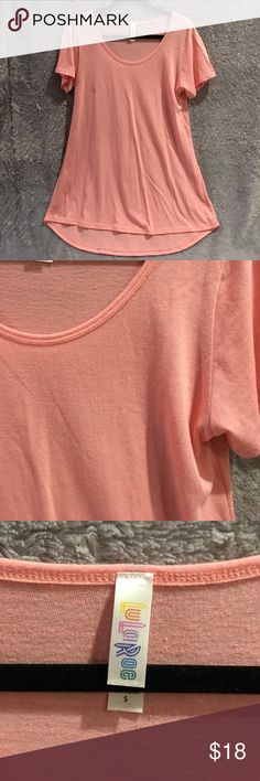 LulaRoe Classic LulaRoe Classic Peach Top. Size small. Used but still good condition. ❌No Trades❌ Proceeds go towards feeding the homeless❌ Please bundle to save❌ LuLaRoe Tops Tees - Short Sleeve