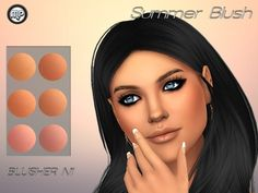 Marty P: Summer Blush N1 • Sims 4 Downloads
