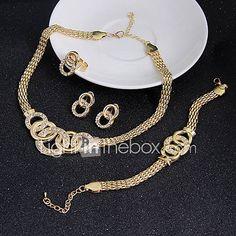 Prezzi e Sconti: #Set di gioielli orecchino bracciale gioielli  ad Euro 4.13 in #Miniinthebox #Parure di gioielli
