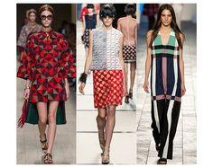 Spring/Summer 2014 Fashion Week fashion trends: Abstract Art