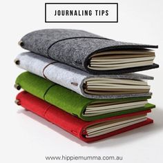 Journaling Tips - love this article