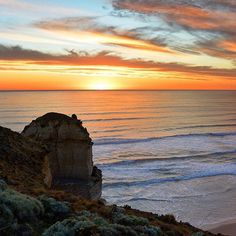 """Here looks like a good spot to pull over!"" - On @visitgreatoceanroad in #Victoria you're spoiled for choice when it comes to spots to take that Instagram-worthy shot - especially at sunset. The #GreatOceanRoad is renowned as one of Australia's most scenic coastal drives and will take 2-3 days to complete at a leisurely pace - starting at the surf capital of #Torquay via the iconic #12Apostles and ending at the historic fishing village of #PortFairy. Photo: @thisisyugen by australia"
