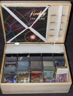The Shiny Edition | Firefly: The Game | BoardGameGeek This is amazing, I MUST do this with some of my games