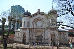 Old Synagogue on Kruger Street, Pretoria, South Africa Synagogue Architecture, Church Building, Pretoria, African History, Barcelona Cathedral, Countryside, South Africa, The Good Place, Taj Mahal