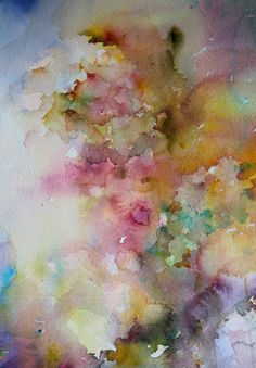 Jean Haines #artiste #contemporain contemporary art Watercolor