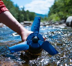 Estream Portable Water Power Generator: Nothing worse than battling your way out into the wilderness then having no power supply to ensure the stream of selfies and #adventure images get the recognition they deserve. If you have an Estream in your backpack, you're good. It converts any type of moving water into stored energy to charge every usb-connected mobile device.