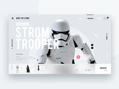 Toy store website designed by ArmKum. Connect with them on Dribbble; the global community for designers and creative professionals. Website Layout, Web Layout, Layout Design, Website Ideas, Game Ui Design, App Design, Flat Design, Ux Design Portfolio, Best Landing Pages