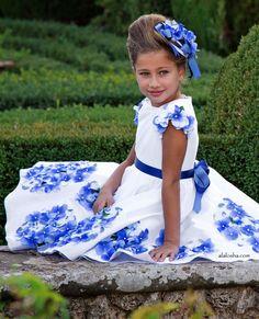 ALALOSHA: VOGUE ENFANTS: NOUVELLE SAISON: 3D Floral printemps robes par Lesy Luxury Flower