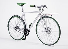 Green, Sport Edition, Flat carrier. Bicycle Design, Bike, Sports, 3, Hotels, Flat, Green, Products, Bicycle Kick