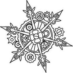 Clockwork Snowflake: Steampunk Christmas