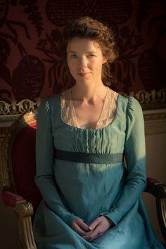 Death Comes to Pemberley: Anna Maxwell Martin as Elizabeth Darcy