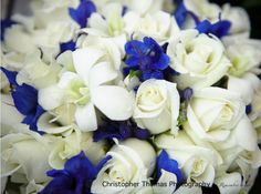 White and blue boquet http://www.christopherthomas.com.au/blog/page/2/