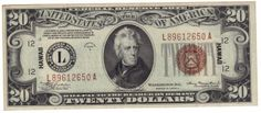 Fr. 2305 - 1934A $20 Hawaii Federal Reserve Note We don't see anything on this WWII era $20 that should keep it out of at least a 64 holder. The colors and details are exceptional.